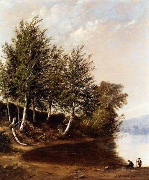 New big figures in a landscape 1857